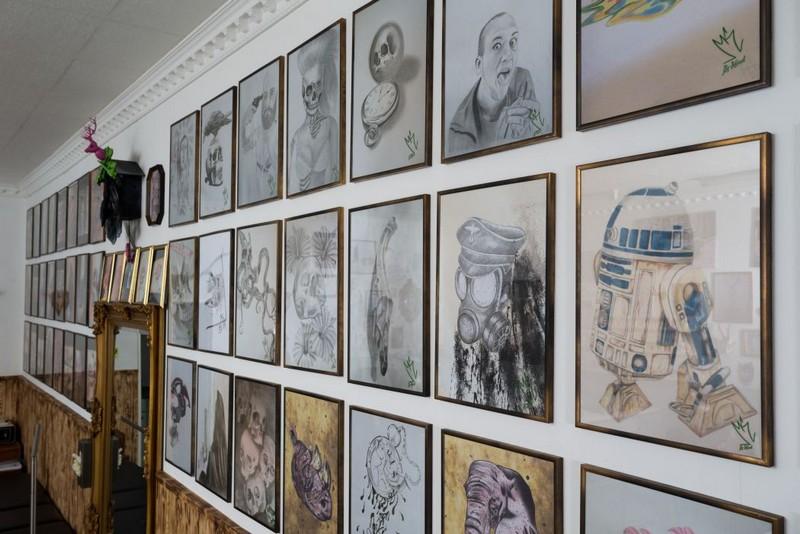 unsere tattoo und piercing studios in scharnhorst und marten. Black Bedroom Furniture Sets. Home Design Ideas